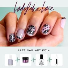 Lace Nail Art Diy Crafts That I Love Pinterest Lace Nail