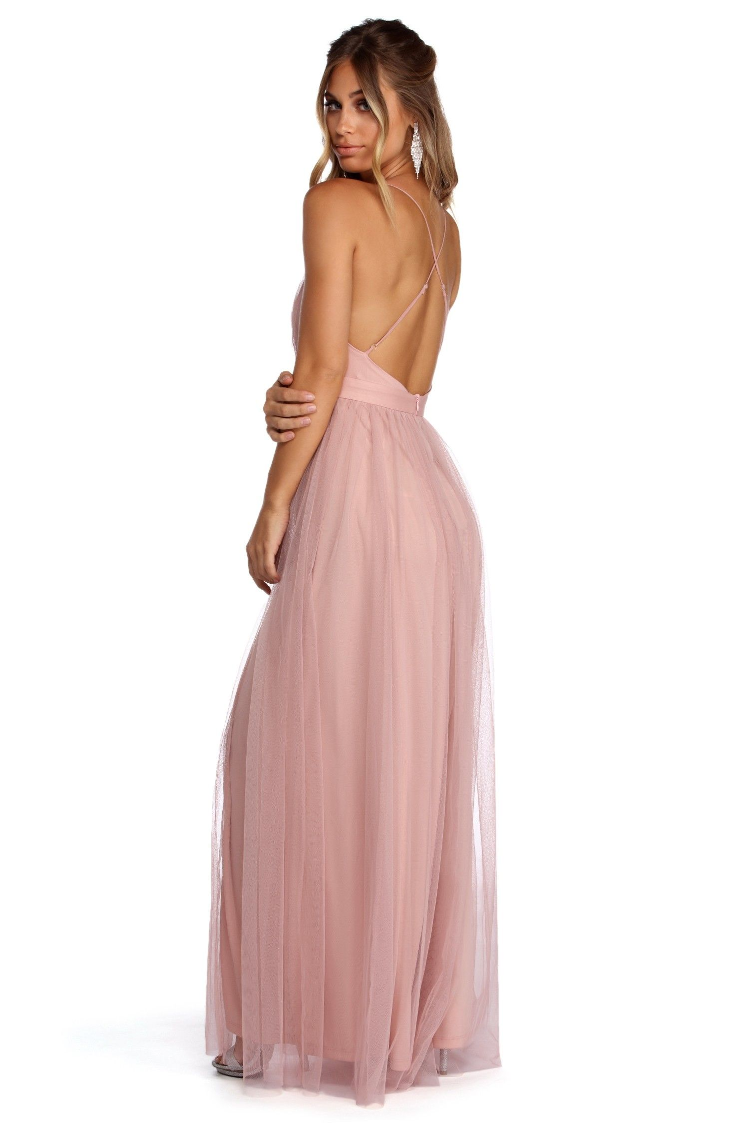 4ab56bc6cf Elisabeth Pleated Tulle Formal Dress in 2019   Prom   Formal dresses ...