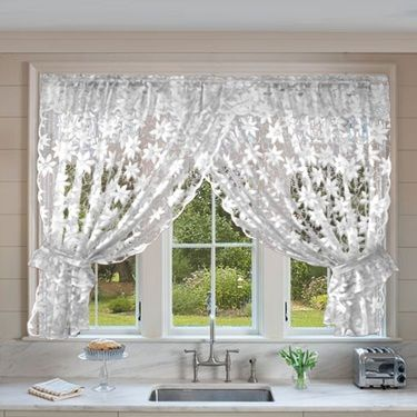 Filigree Classique Crossover Lace Curtain Curtains In