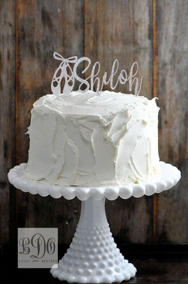 Twenty One Cake Topper Rose Gold