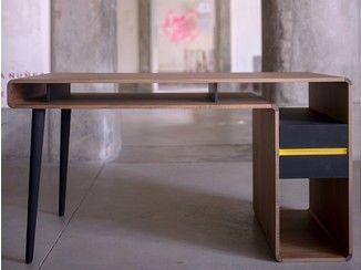 Bureau rectangulaire avec tiroirs around u bureau two six