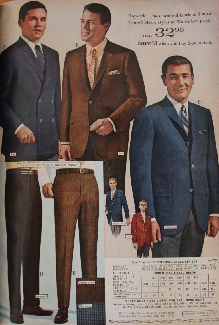 1960 Men S Basic Suits 1960s Fashion Mens Vintage Mens Fashion Mens Fashion