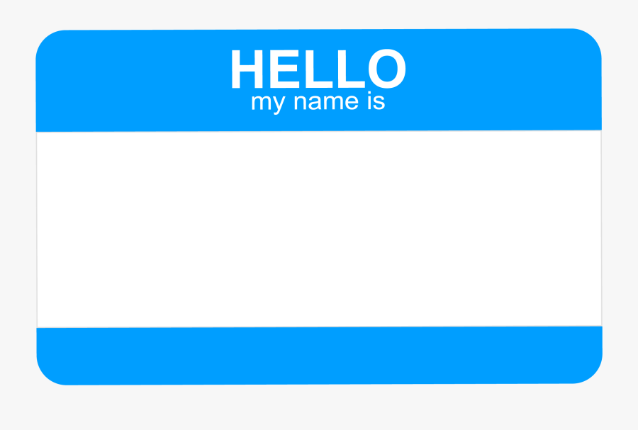 Clip Art Hello My Name Is Tags Hello My Name Is A Free Transparent Background Clipart Image Uploaded By Purple Oryx Dow Clip Art Hello My Name Is My Name Is