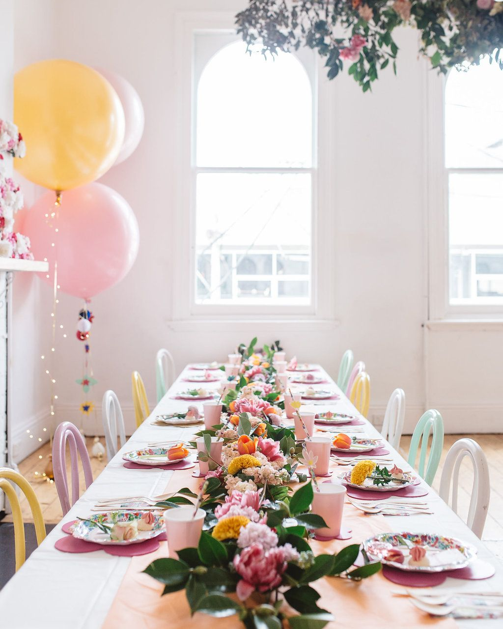 Winter Garden Party Ideas Part - 24: Melbourne Stylist Aimee Tarulli Hosted A Inside Winter Garden Party For Her  Daughter Rosieu0027s First Birthday. Styled By Ashlea Young From Plan A Events,  ...