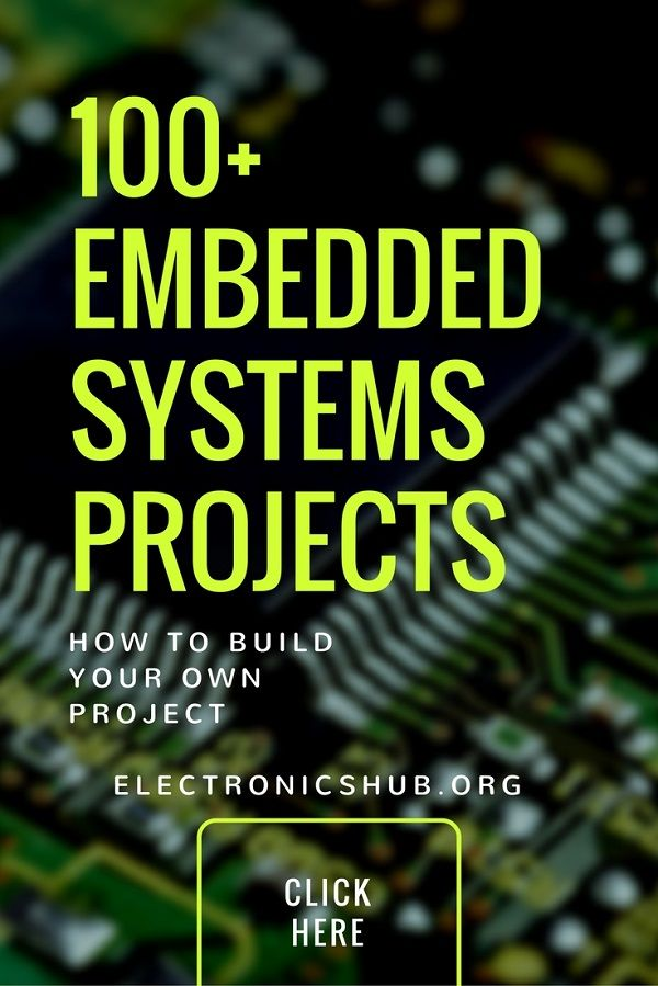 100+ Embedded Systems Projects for Engineering Students | Project ...