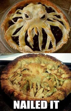 Horrible Sea Monster Cake  The Most Bizarre And Hilarious Food Expectations Vs Reality • Page 11 of 11 • BoredBug