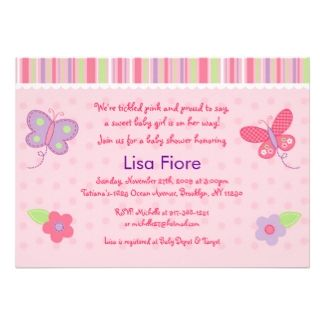 baby shower ideas for girls | ... Baby Shower Invitations and Ideas to Welcome Your Beautiful Baby Girl