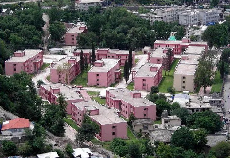 Muzaffarabad, Azad Jammu Kashmir. These buildings are donated to government by Turkey