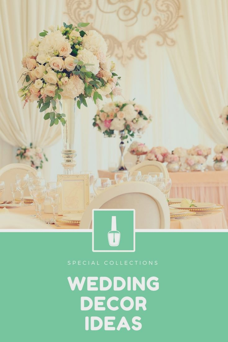 Latest wedding decoration images  Design A Personus Wedding Reception With These Latest Affordable