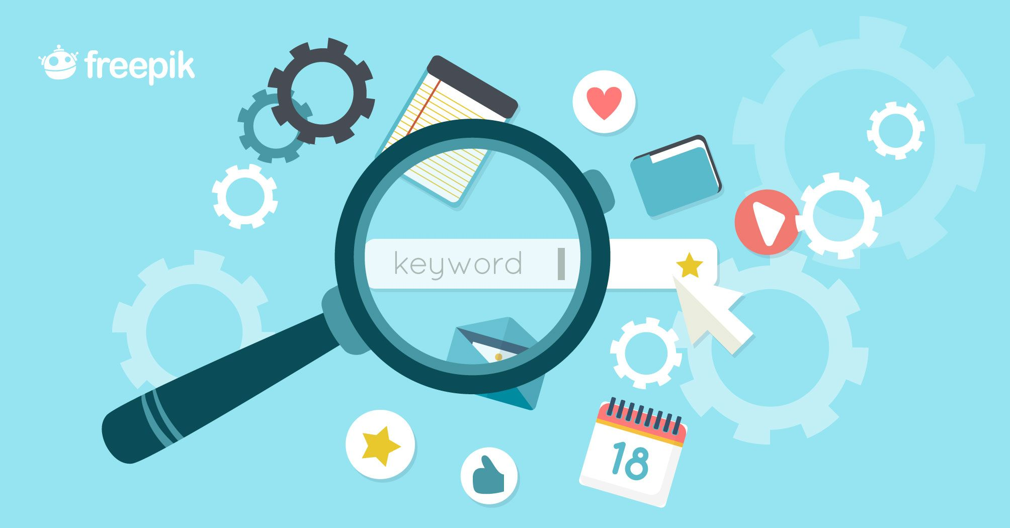Easily Write SEO-Optimize Content Without Knowing Any SEO | Freepik Blog #graphicdesign