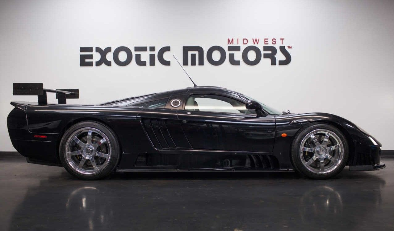 Saleen S7 For Sale >> Black On Black Saleen S7 Twin Turbo For Sale Twin Turbo