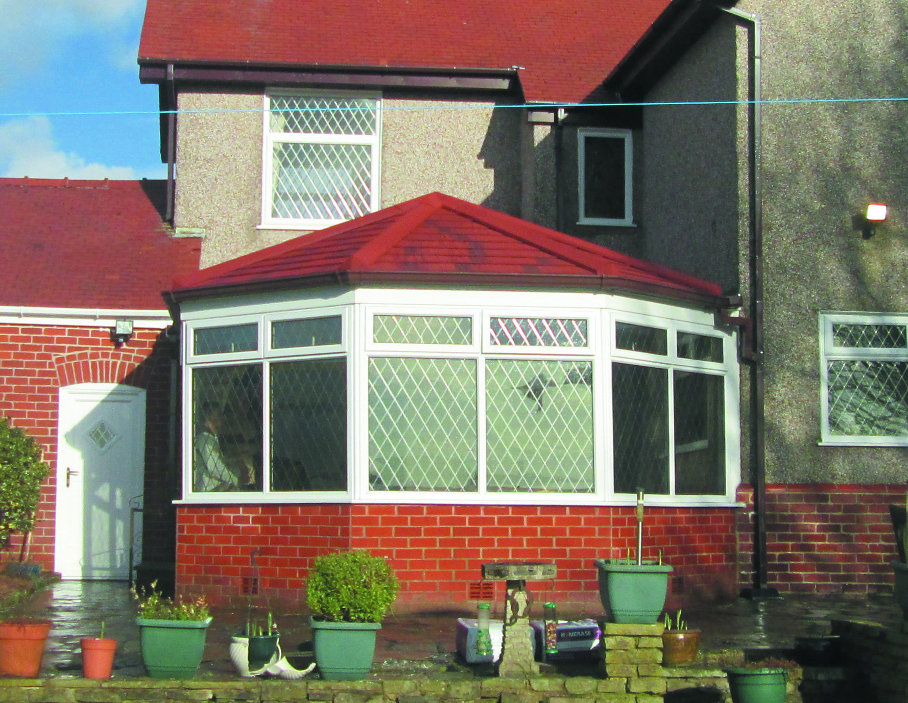 Victorian After Guardian Roof Before After Decor