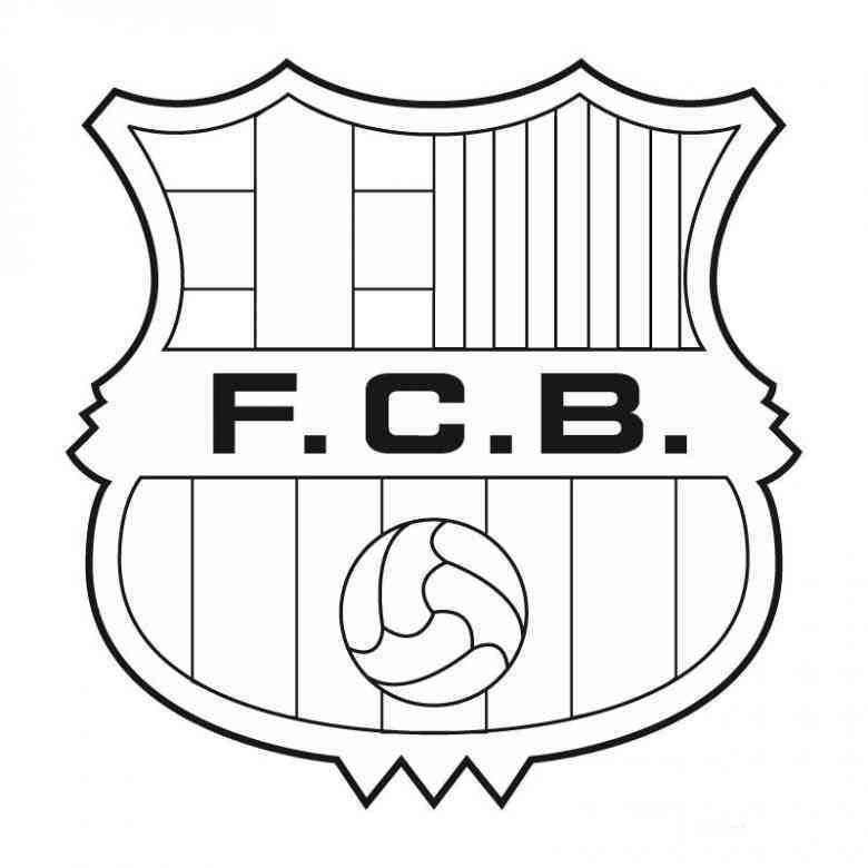Fussball 24 Ausmalbilder Barcelona Pictures Coloring Pages