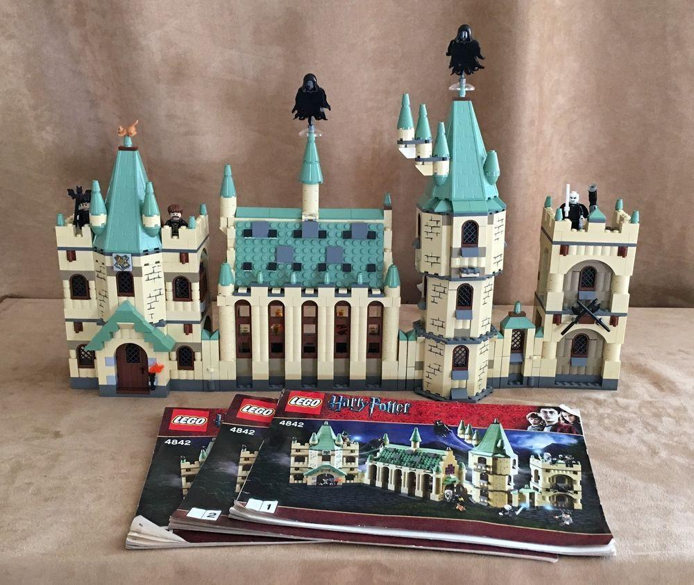 4842 lego complete harry potter hogwarts castle 2010 minifigures instructions harry potter. Black Bedroom Furniture Sets. Home Design Ideas