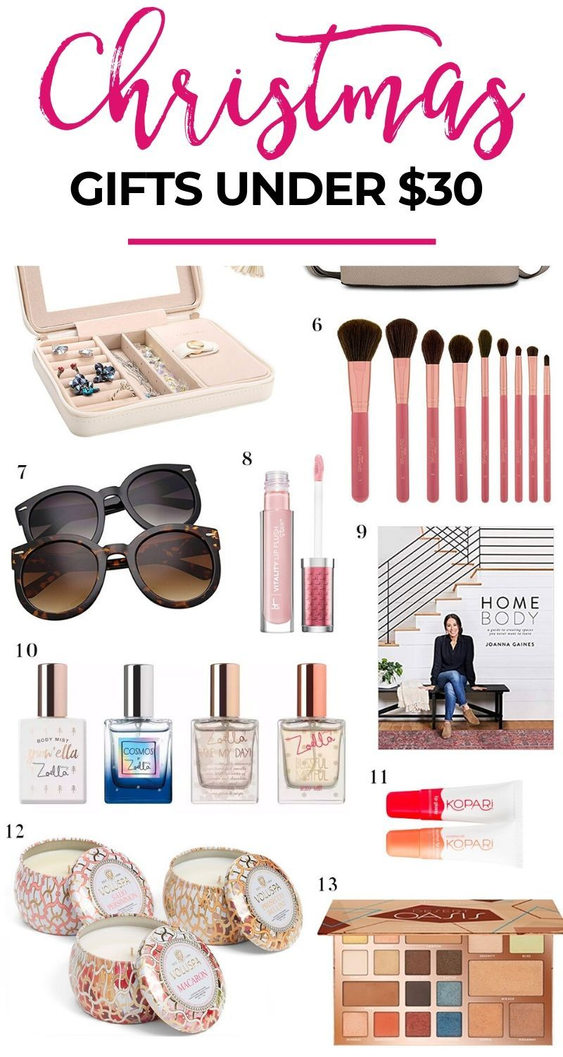 The 2019 Best Christmas Gifts For Women Under 30 This Is The Ultimate Christmas Gift Guide Christmas Gifts For Women Gifts For Women Affordable Holiday Gifts