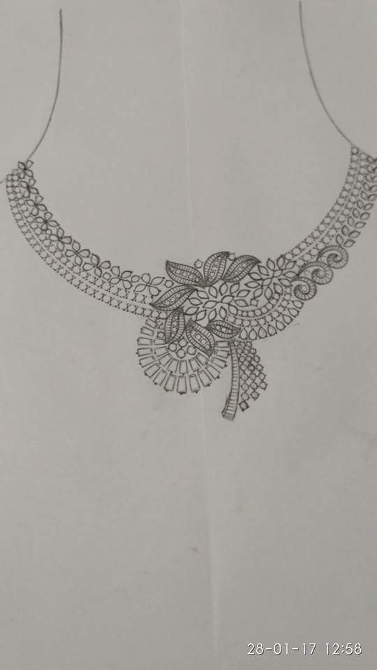 Pin By Jewel Tech On Necklace Idea Jewellery Design Sketches Jewelry Design Drawing Jewelry Drawing