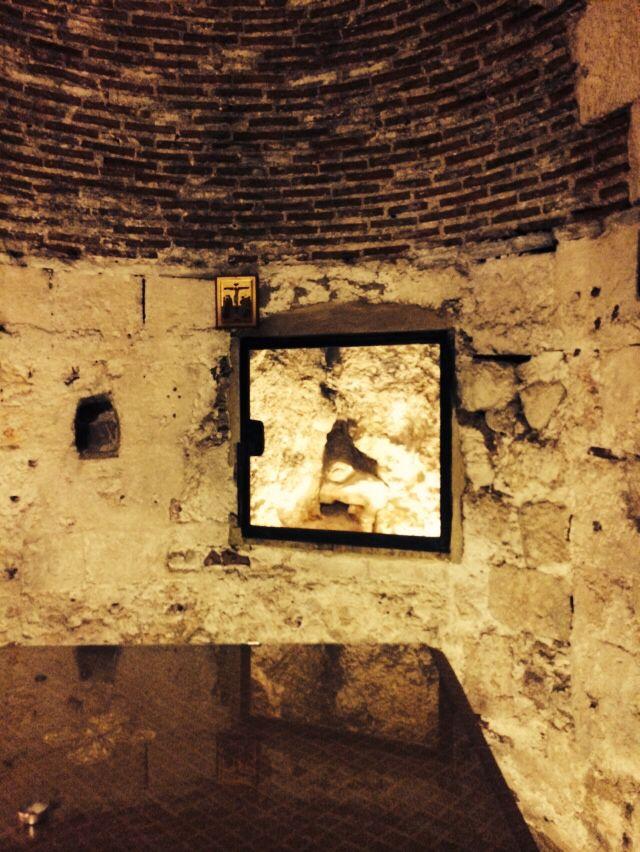 Crypt in Church of Holy Sepulchur.