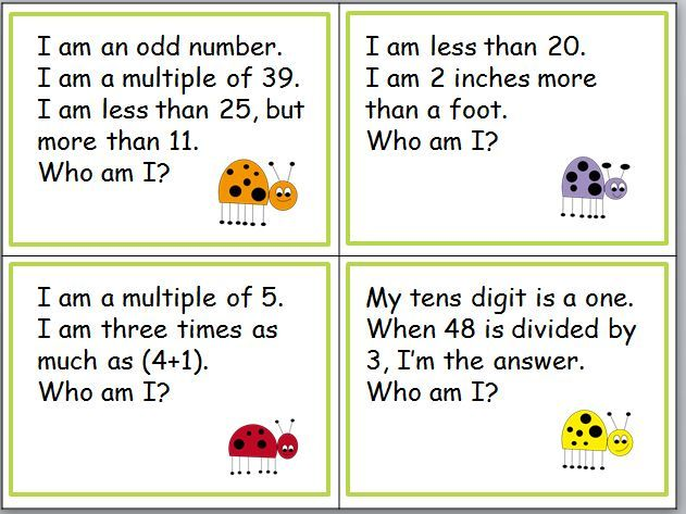 free try these 12 riddle cards lots of great review for your fourth and fifth graders samples. Black Bedroom Furniture Sets. Home Design Ideas