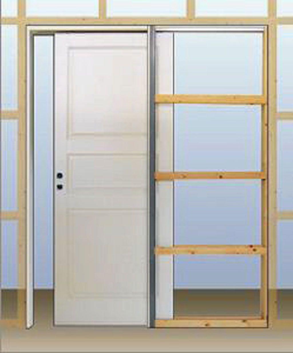 Infälld skjutdörr | Kök - önskelista | Pinterest | Sovrum ... : bygga garderob skjutdörrar : Garderob