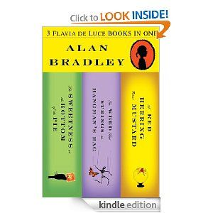 Love all of Alan Bradley's Flavia de Luce books - how cool would it have been to be the childhood friend of the heroine Flavia and helped her solve those mysteries!