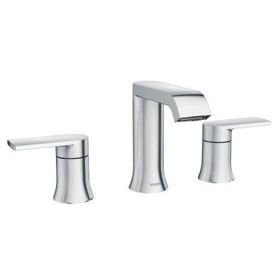 Genta 2-Handle Bathroom Faucet in Chrome -- 84763 -- Moen | Happy ...