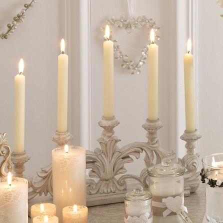 Nouveau Collection Ornate Candle Holder | Dunelm