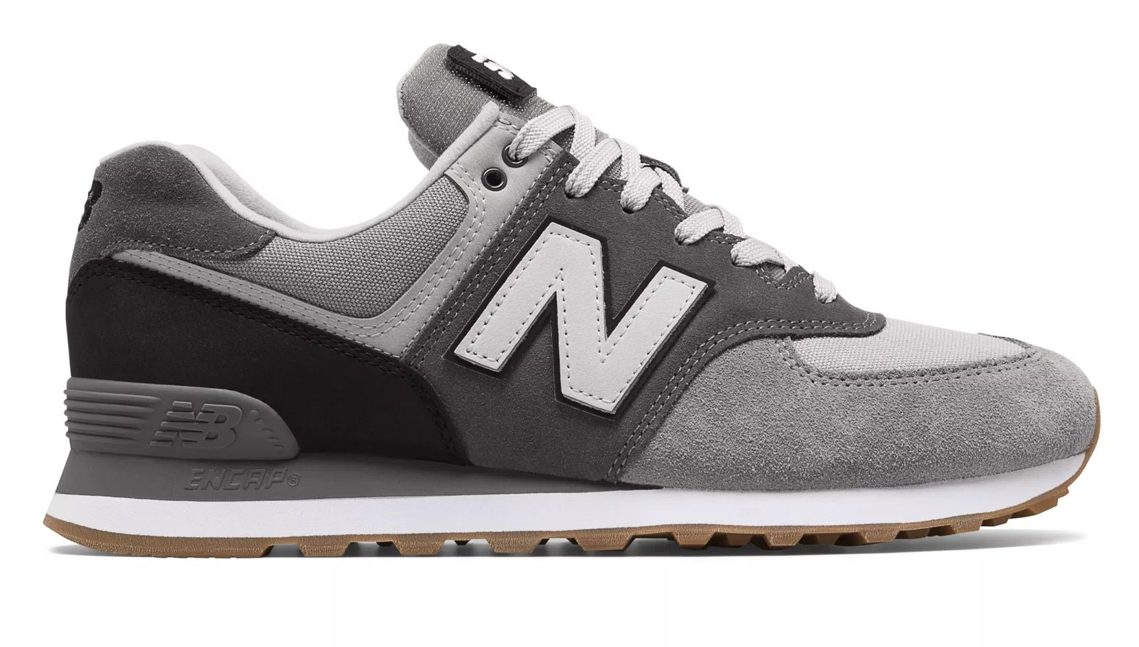new balance 574 gunmetal navy