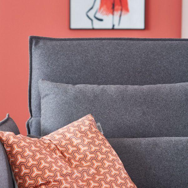 Mit Unserem Sofa Vision Holst Du Dir Ein Echtes Chamaleon In Dein Wohnzimmer Moderne Linien Und Puristisches Design Geben Bei Visio Schoner Wohnen Sofa Wohnen