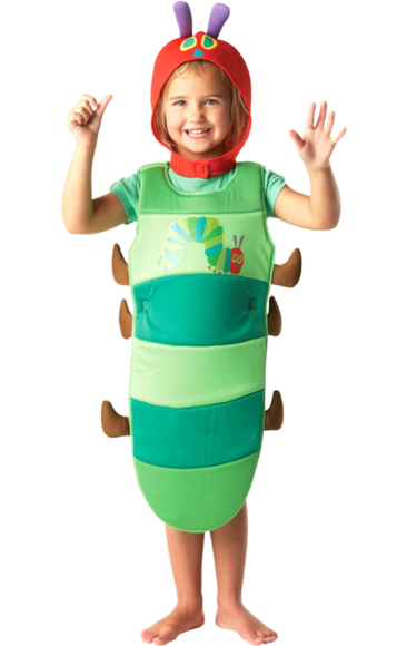Child The Very Hungry Caterpillar Costume Caterpillar Costume Diy Halloween Costumes For Kids Unique Toddler Halloween Costumes