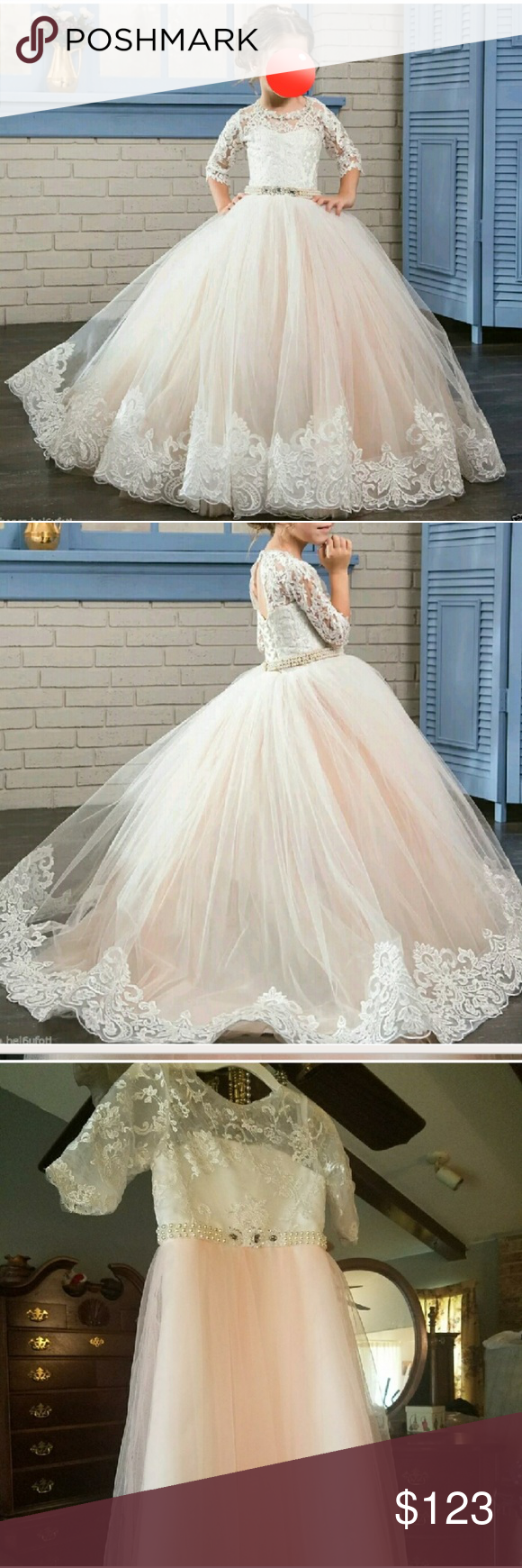 Dresses for 12 year olds for a wedding  New Princess Gown Boutique in   My Posh Closet  Pinterest