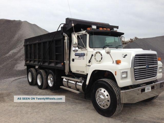 Toy Ford L9000 Dump Truck