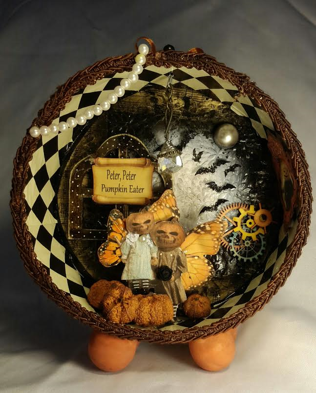 Altered cookie tin