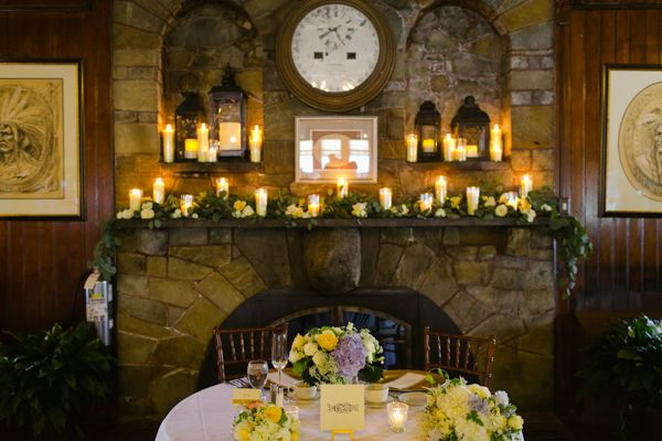 Candlelit Wedding Reception Hillary Will S Nautical Squantum Ociation By Daphne And Dean Photography