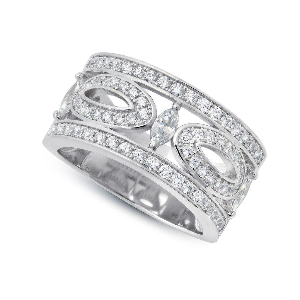 CRISLU Romance Marquise Ring Marquise ring, Ring