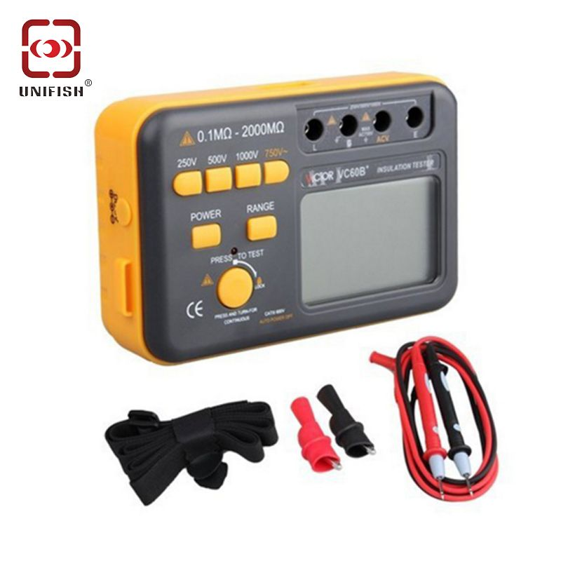 Find More Resistance Meters Information About Victor Vc60b Digital Insulation Tester Cheap Insulation Electrical Conductor
