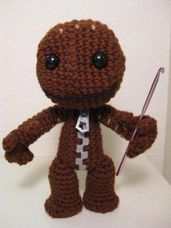 Sackboy Crochet Pattern | Crochet-Amigurumi | Pinterest