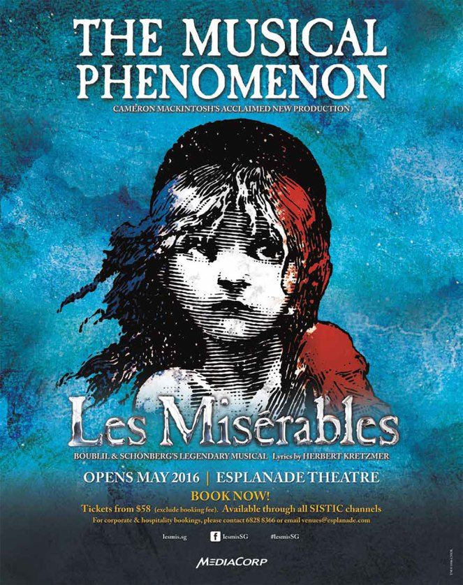 So, finally, Les Miserables musical has returned to Singapore after many, many…