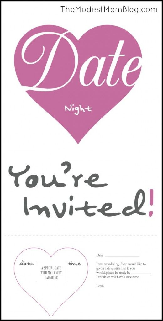 date night invitation template - Goalgoodwinmetals