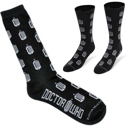 Doctor Who Socks on Global Geek News.