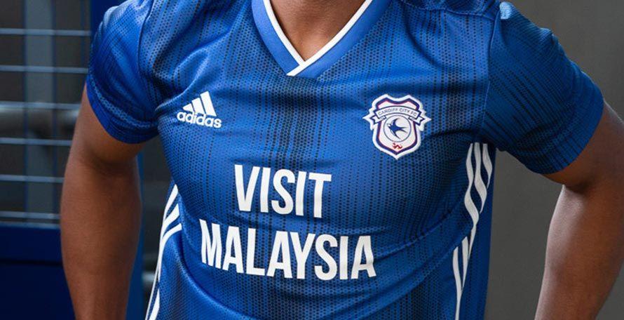 Adidas Cardiff City 19 20 Home Kit Released Cardiff City Cardiff Football Kits