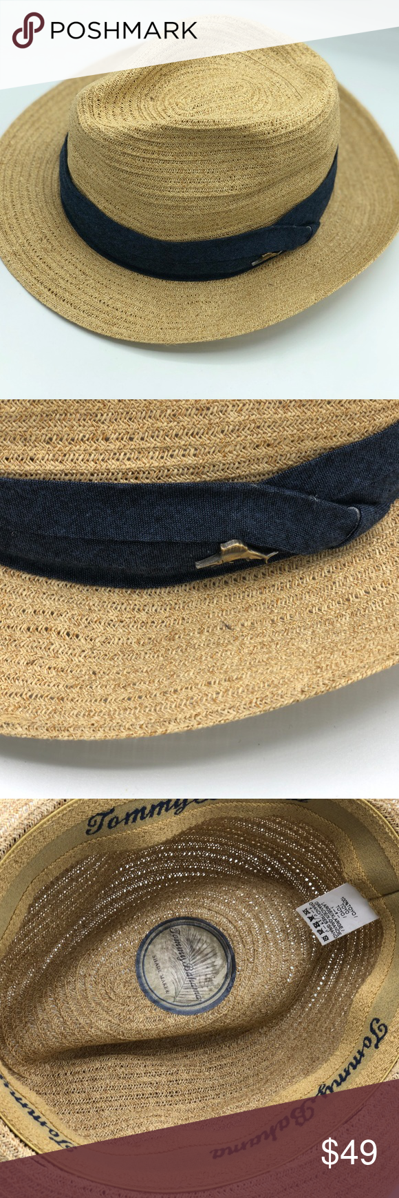 53ca19e5ae9f7 Tommy Bahama Men s Straw Hat NWOT This hat is brand new. However