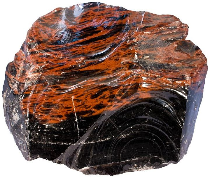 Mahogany Obsidian Beautifully Formed Volcanic Glass With