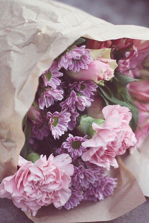 Mazzo Di Fiori Tumblr.100 Tumblr Romanticismo Mazzo Di Fiori Garofani E