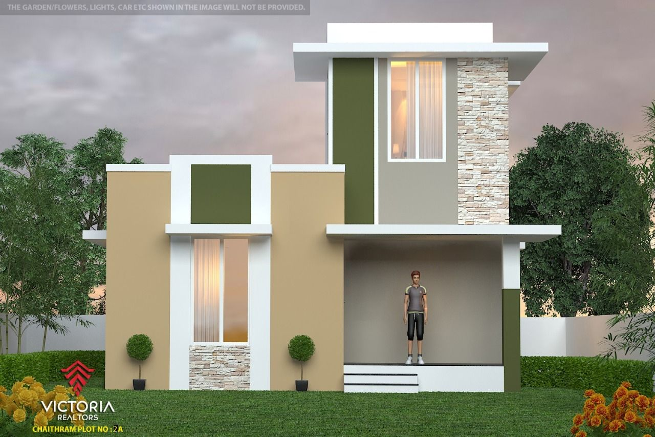 Villas In Mundur Palakkad Villas At Mundur Palakkad Victoria Realtors Small House Plan House Plans Villa
