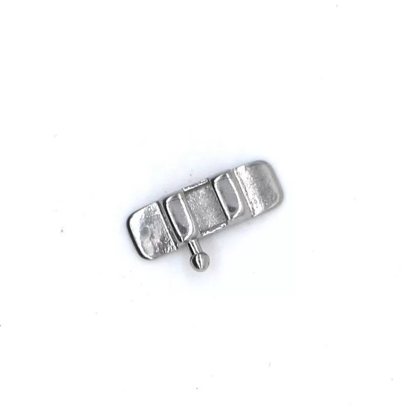 Stainless Steel Lingual Sheath Orthodontics With Hook Custom Design