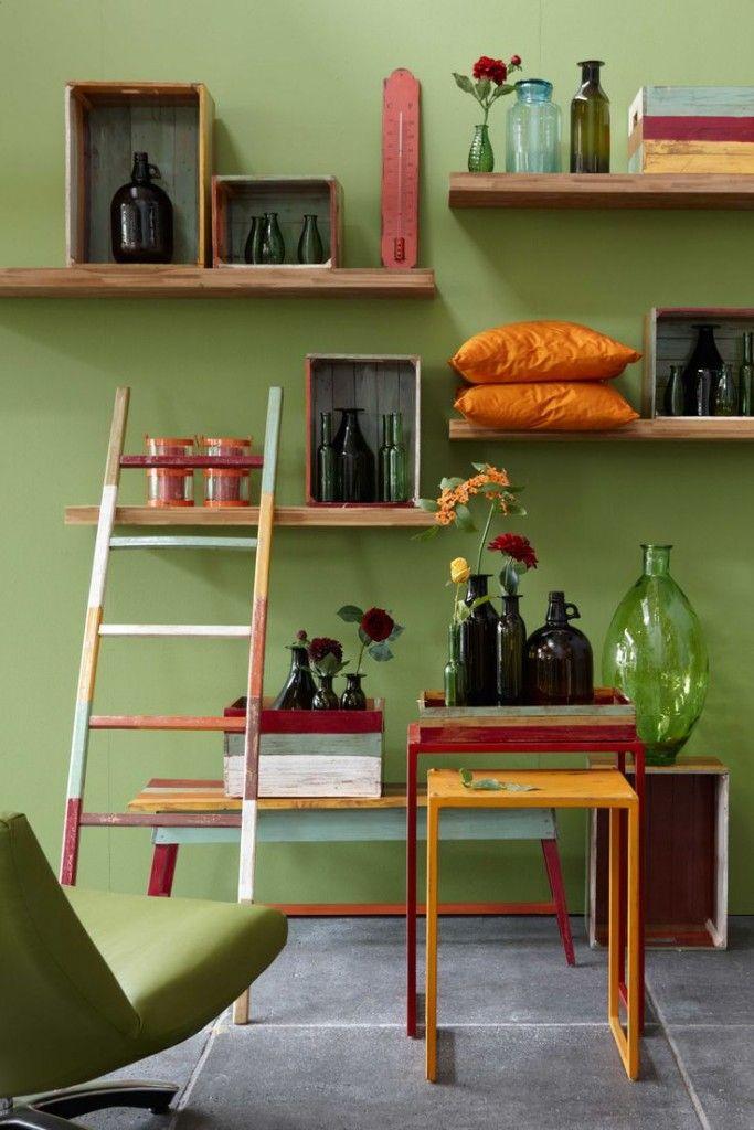 Groen in het interieur voorbeelden  Interieur