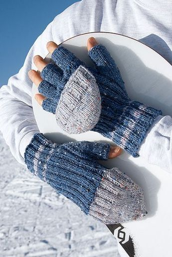Photo of Blaue Handschuhe stricken familie.de