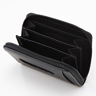 ヌメ革小銭 カード入れ ネイビー 無印良品ネットストア Zip Around Wallet Wallet Muji