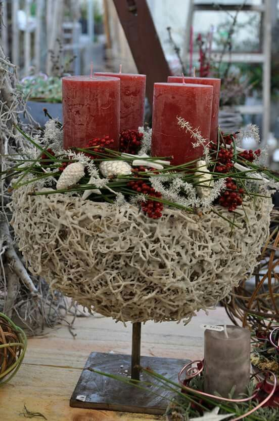 schale bastelideen weihnachten pinterest advent. Black Bedroom Furniture Sets. Home Design Ideas