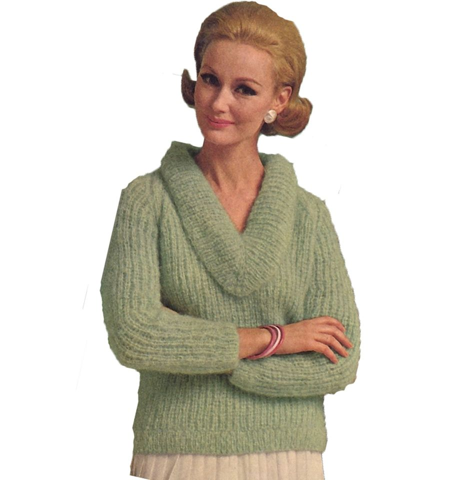 Cowl v neck collared knitted sweater pattern the slipon features cowl v neck collared knitted sweater pattern the slipon features long sleeves hip length bankloansurffo Image collections